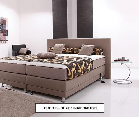 Leder Schlafzimmermöbel