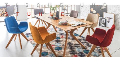 Valdera Tische und Stühle Holz Braun