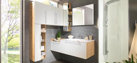 XXXLutz überzeugt durch die individuelle Planung der Badezimmer-Ausstattung nach Ihren Wünschen. Lassen Sie sich von Ihrem XXXLutz-Berater Ihr Traumbadezimmer entwerfen.