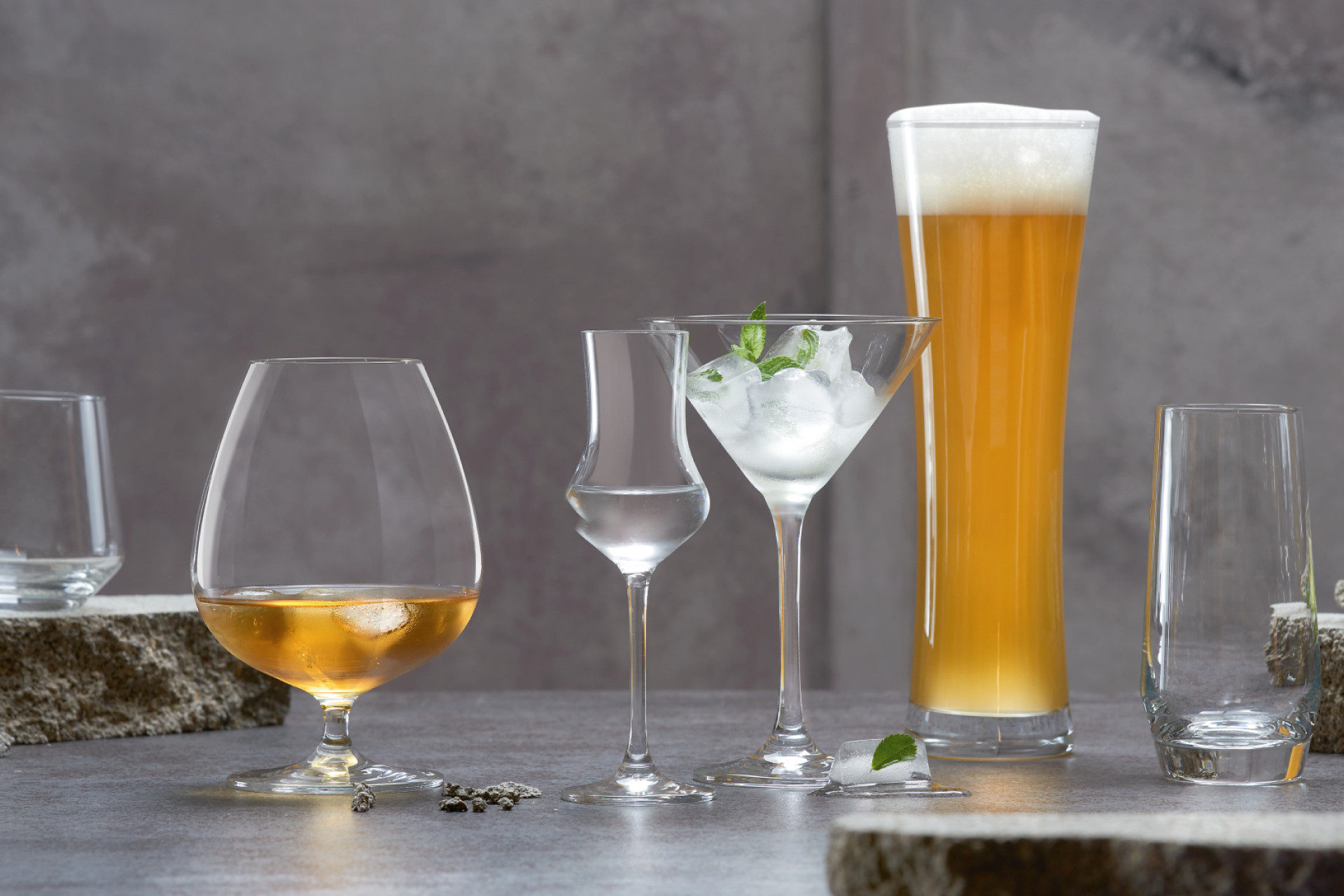 Cocktail- och longdrinksglas