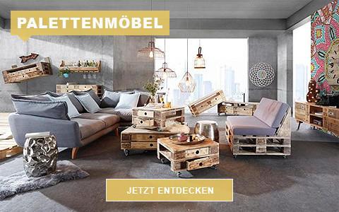 Wohnzimmer Palettenmöbel