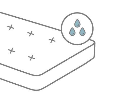 Matratze reinigen Schweißflecken