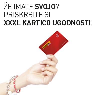 xxxl kartica