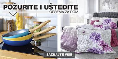 Opremite svoj dom uz proizvode iz Lesnine XXXL