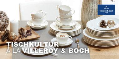 Tischkultur à la Villeroy & Boch