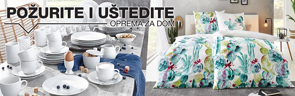 Opremite dom s posteljinom i servisom za jelo uz Lesninu XXXL