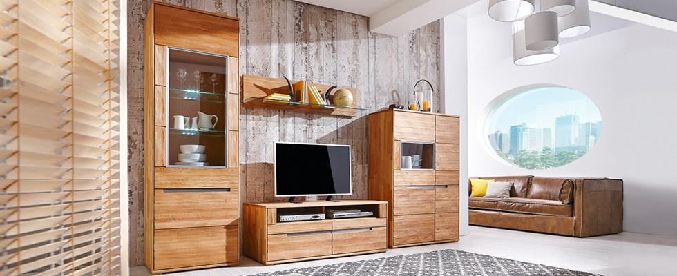 Massivholzmöbel wohnzimmer  Wohnzimmer aus Massivholz