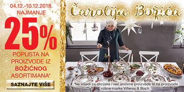 Lesnina popust božićni asortiman 25%
