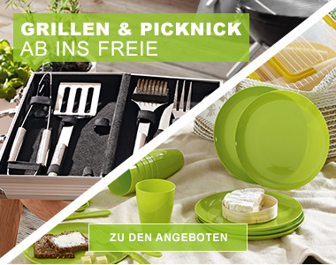 Grillen & Picknick - Ab ins Freie