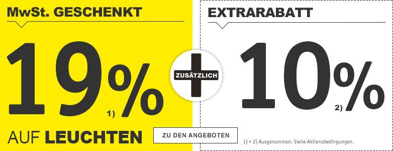19%+10% Hausrabatt