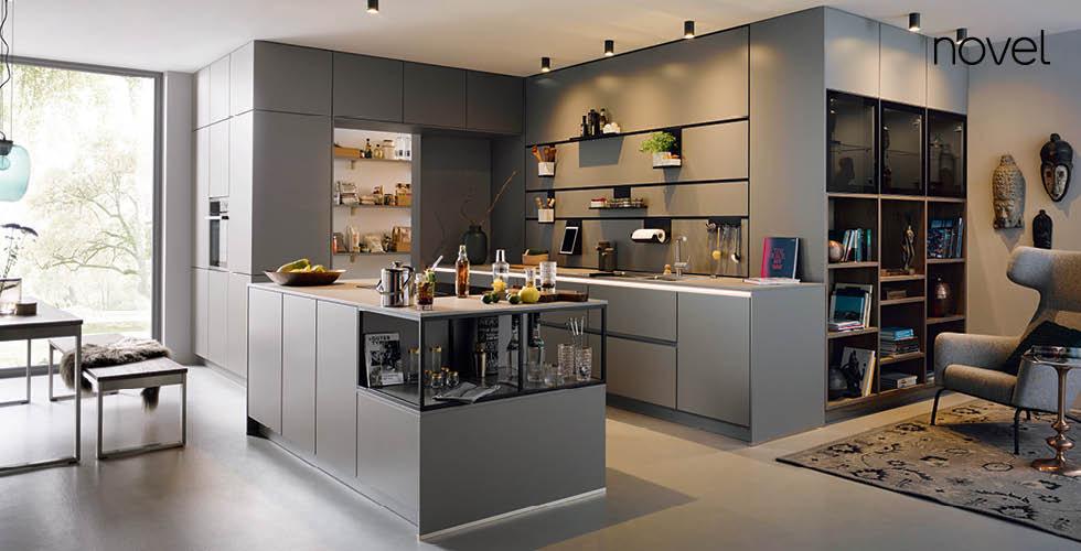 Novel kuhinja i soba u istoj nijansi