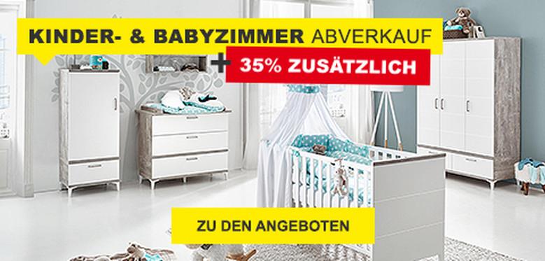 Abverkauf Kinder- und Babyzimmer