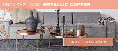 Shop the Look: Metallic Copper