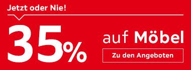 35% sparen