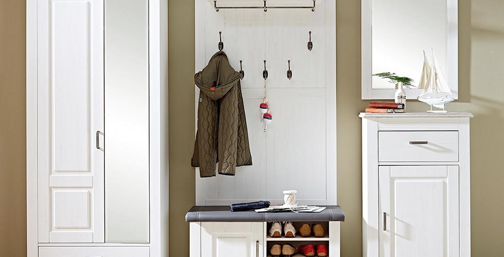 Hochwertiges Garderobenset im Landhausstil. Garderoben in vielen Stilen bei XXXLutz.