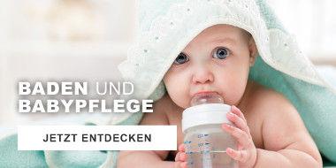 Baden und Babypflege
