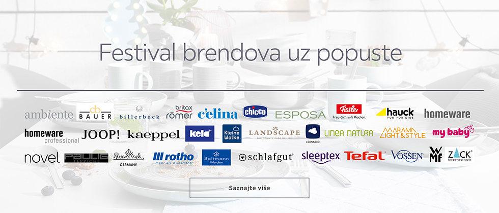 Festival brendova uz popuste u Lesnini