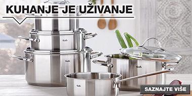 Kvalitetan set za kuhanje Lesnina XXXL