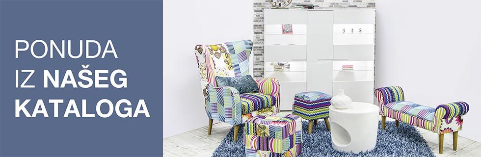 Moderan patchwork namještaj Lesnina XXXL