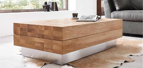 Holzpflege Massivholz Wohnzimmertisch