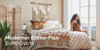 Moderner Ethno-Flair Boho Gypsy