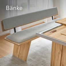 Venjakob Bänke Grau Holz Braun