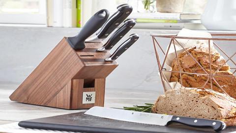 Kvalitní sada kuchyňských nožů z XXXLutz.