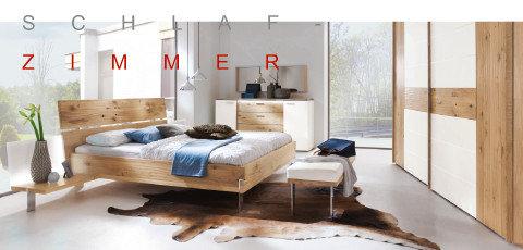 Valdera Schlafzimmer Betten Blau Braun Holz