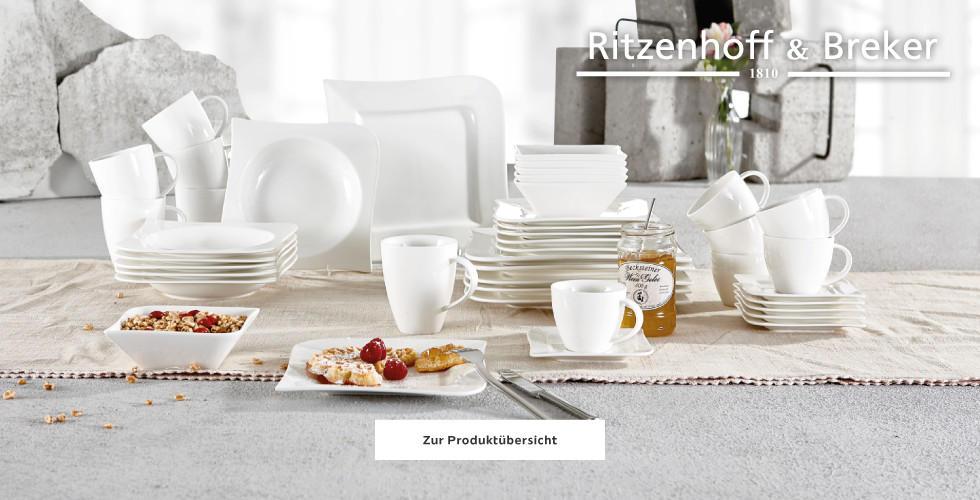 Ritzenhoff Brekter Tafelservice weiss