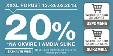 20% popusta na okvire i Ambia slike u Lesnini