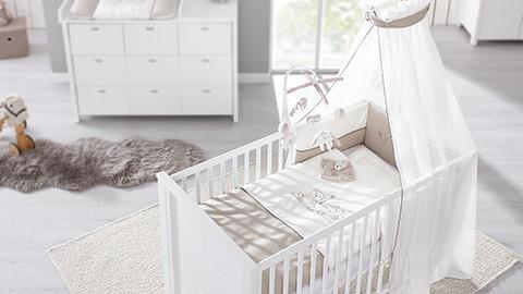 Babybettwäsche Für Jede Nacht Mehrteilige Gitterbettsets Xxxlutz