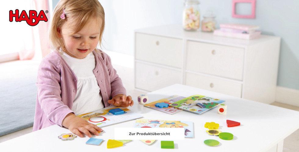 Haba Spielwaren entdecken Mädchen Rosa