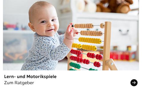 Babyratgeber Lern- und Motorikspiele