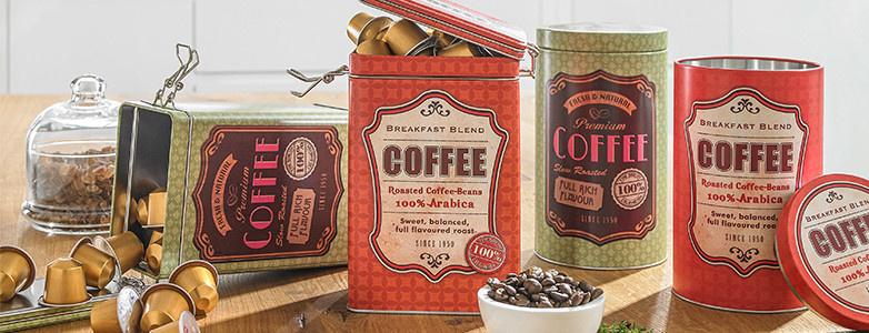 Frischhaltedosen Kaffeedosen