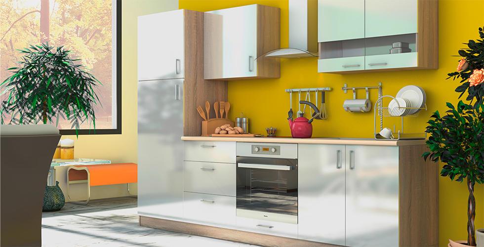 ideja za kuhinju u apartmanu