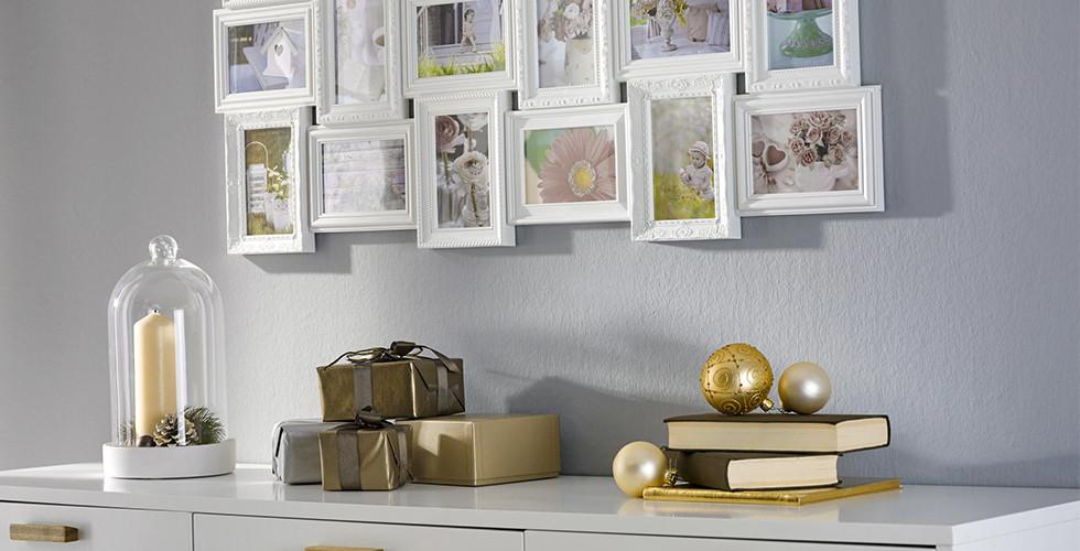 Bei XXXLutz finden Sie verschiedene Bilderrahmen passend zu Ihrem Wohnstil.