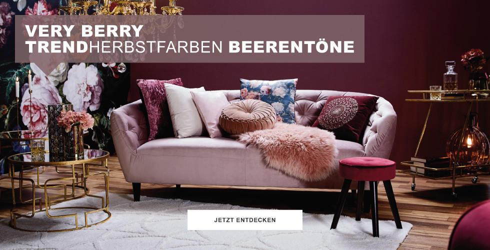 Very Berry Trendherbstfarben Beerentöne