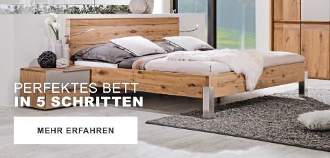 Perfektes Bett in 5 Schritten
