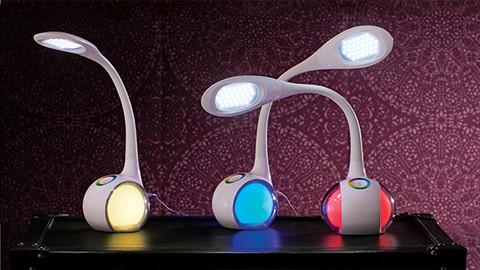 Schreibtischlampen bunt LED