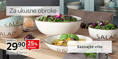 Moderni tanjuri i zdjelice Lesnina XXXL