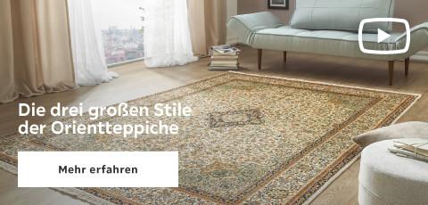 Die drei grossen stile der Orientteppiche