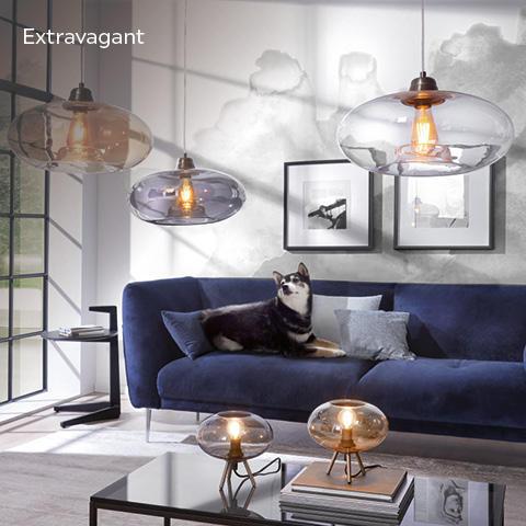 Lampen & Leuchten extravagant