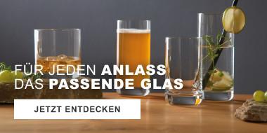Für jeden Anlass das passende Glas