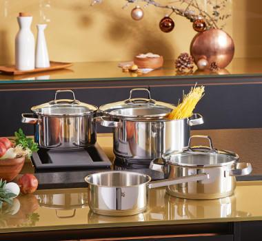 xmas Küche Töpfe Weihnachten