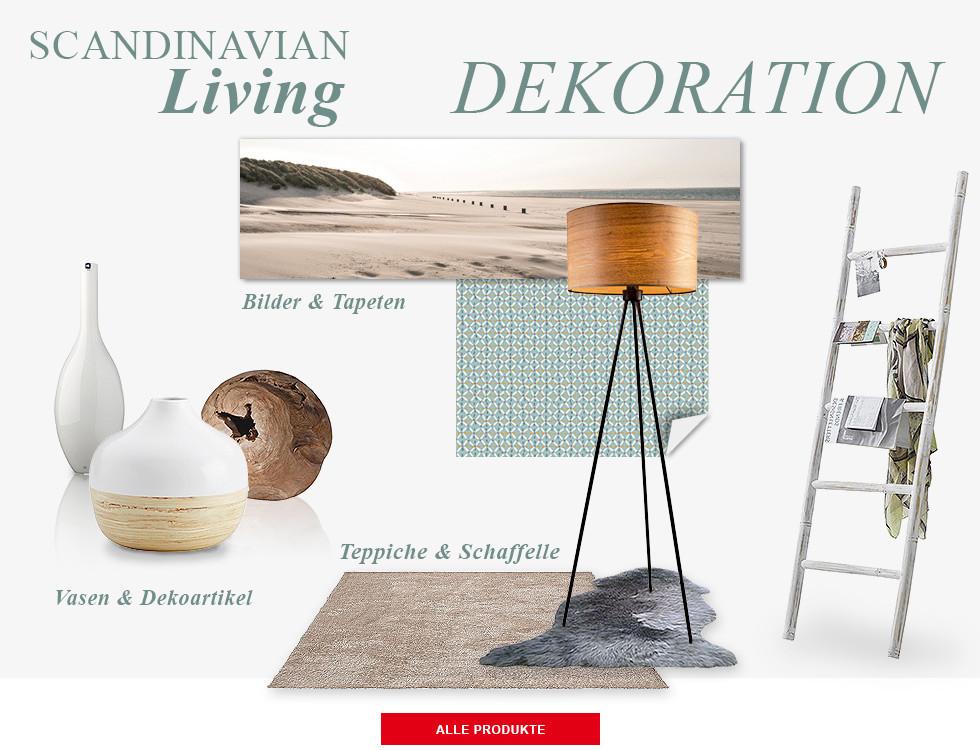 Skandinavische Deko dekoration