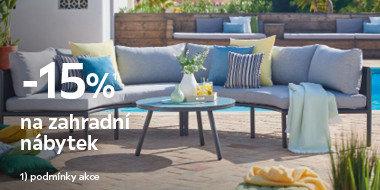 Sleva na zahradní nábytek
