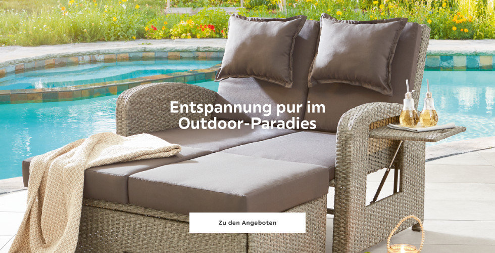 Entspannung pur im Outdoor-Paradies