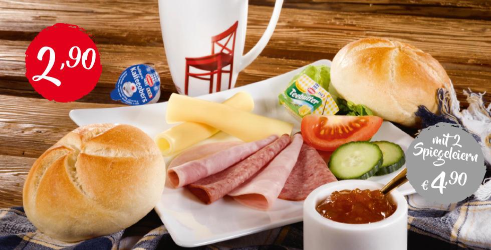 Guten Morgen Frühstück