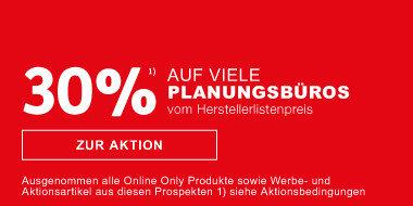 30 Prozent auf Planungsbueros vom Herstellerlistenpreis