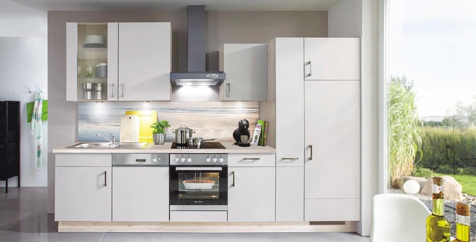 Hochwertige, günstige Küchenblocks, weiß, modern bei XXXLutz.
